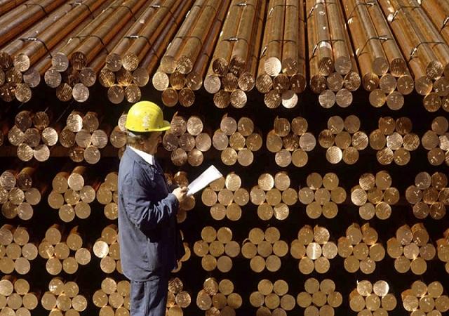 قیمت فلزات آهنی و غیر آهنی ۱۳۹۹/۰۸/۲۵