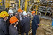 مدیرعامل هلدینگ خلیج فارس چرا از واحد بازیافت اسمز معکوس بازدید کرد؟