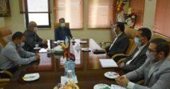 دیدار مدیر آموزش و پرورش شهرستان خواف با مدیرعامل مجتمع اپال پارسیان