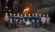 تعمیرات دیگ اوتیلیزاتور کنورتور شماره ۲ بخش فولادسازی با موفقیت انجام شد