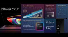 Mi Laptop Pro 2021 توسط شیائومی معرفی شد