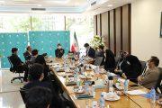 اولین جلسه پایش عملکرد فصلی واحدهای ستادی بانک کارآفرین برگزار شد