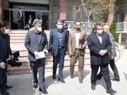 اهدای اقلام بهداشتی مقابله با کرونا توسط بانک ملی ایران