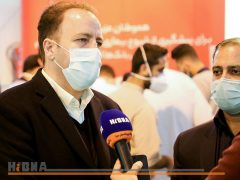 استقرار میز خدمت بانک مسکن برای کادر درمان در بیمارستان بقیه الله الاعظم (عج)