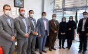 بازدید سرزده عضو هیئت مدیره بانک دی از شعبه شهید مطهری