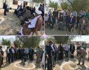 عملیات اجرایی احداث مدرسه سه کلاسه در روستای «دشت کوران» بندرعباس با همت خیرین بانک صادرات ایران آغاز شد