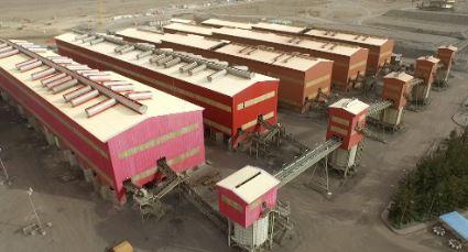 تولید کنسانتره از مرز۱۰ میلیون و ۵۶۹ هزارتن عبور کرد