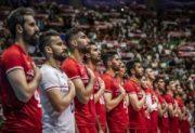 تیم ملی والیبال ایران در صدر آسیا