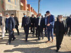 راه اندازی مجتمع اداری فامنین در محل پروژه ۳۳۸  واحدی رهروان ولایت