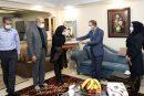 دیدار مدیرعامل بانک دی با خانواده شهید محمد زینال پور