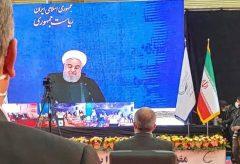 روحانی: پتروشیمی لردگانهمجهش تولید است هم جهش صادرات