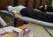 مشارکت کارکنان بانک کارآفرین در کمپین اهدای خون