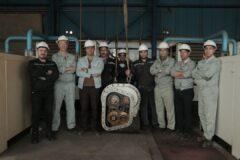 تعمیرات اساسی قطعات حساس و پیچیده کمپرسورهای هوای فشرده در کارخانه اکسیژن فولاد خراسان
