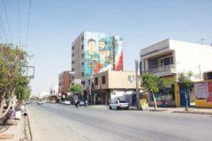 دیوارهای شهر کرمانشاه منقش به تصاویر شهدا میشود