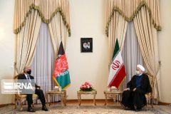 روحانی: راه حل مشکلات افغانستان مذاکرات سیاسی بین الافغانی است