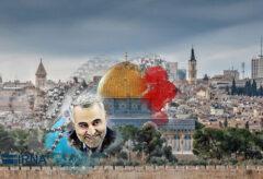 شهیدسلیمانی فرمان امام(ره)را درمبارزه با اسراییل در میدان عملیاتی کرد