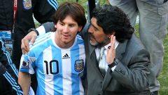 مارادونا: برخورد بارسلونا شایسته مسی نبود