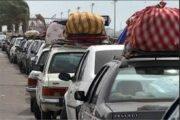 در تعطیلات پیش رو سفر نروید/ افزایش ۵۸ درصدی تردد در جادهها در روز گذشته
