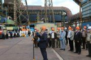 بازدید مدیرعامل چادرملو از ستادهای مقابله با کرونا در مجتمع های معدنی و صنعتی چادرملو